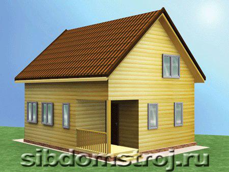 Проект дома КД-35
