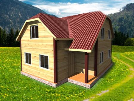 Проект дома ДЖ-11