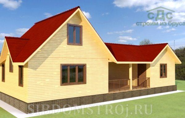 Проект дома ДЖ-34