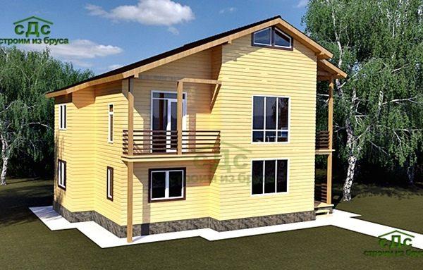 Проект дома КД-50