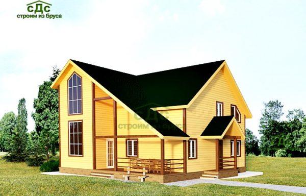 Проект дома КД-49