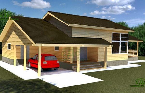 Проект дома ДЖ-12