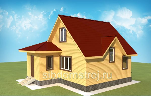 Проект дома ДЖ-38