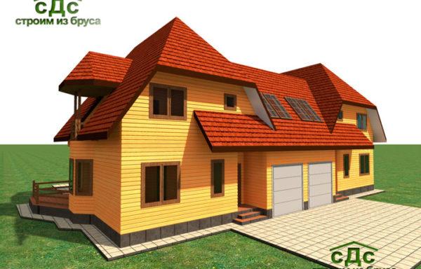 Проект дома Дуплекс-01