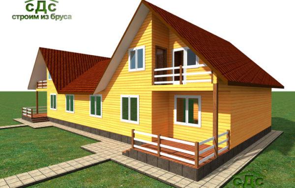 Проект дома Дуплекс-02