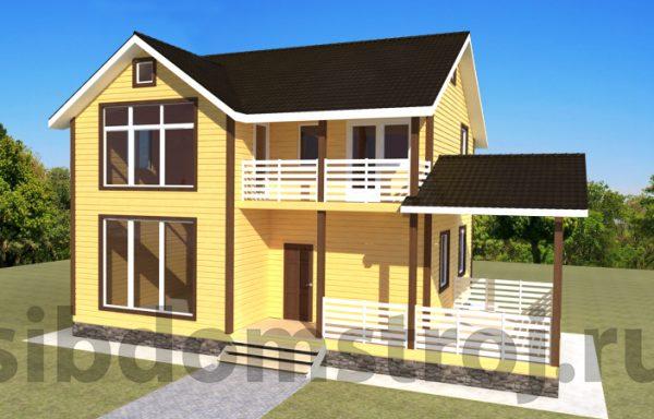 Проект дома ДЖ-37