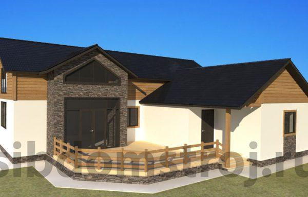 Проект дома СБ-08