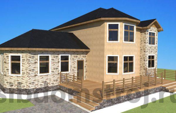 Проект дома СБ-07