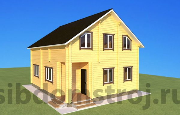 Проект дома ДЖ-30