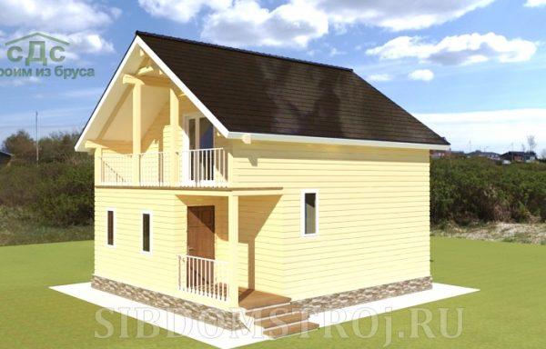 Проект дома ДЖ-32