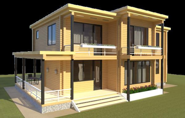 Проект дома ДЖ-48