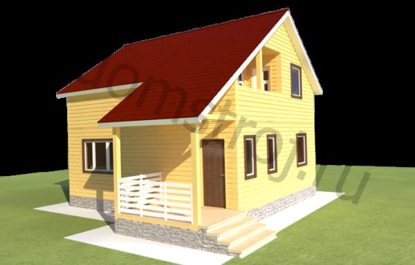 Проект дома ДЖ-45
