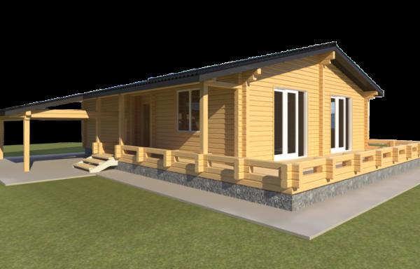 Проект дома ДЖ-54