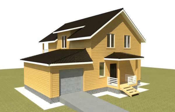 Проект дома ДЖ-57