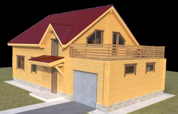 Проект дома ДЖ-55