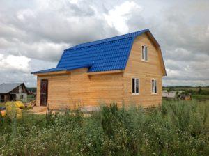 дачные дома из бруса. Строительство