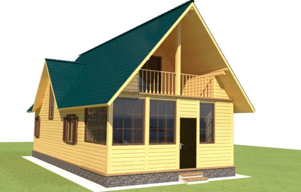 Проект дома ДЖ-28