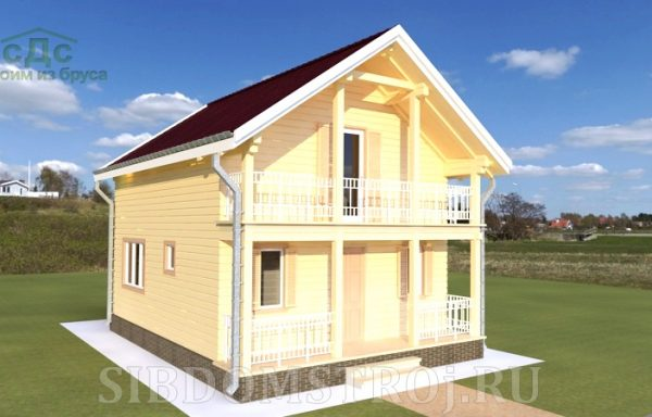 Проект дома ДЖ-35