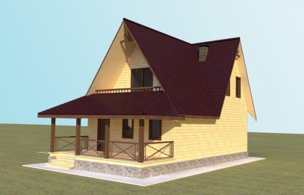 Проект дома ДЖ-23