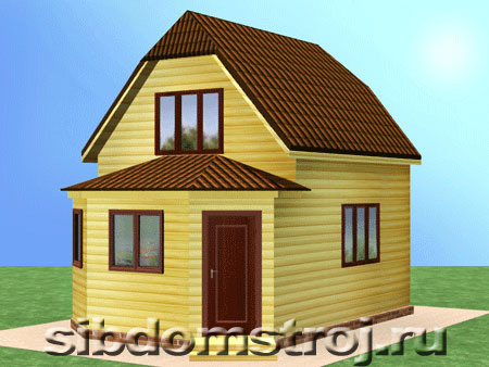 Проект дома КД-30