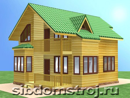 Проект дома КД-33