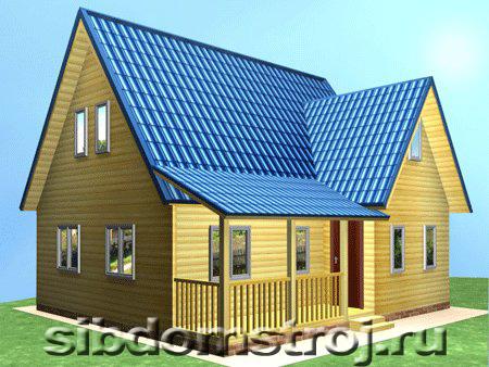 Проект дома КД-34