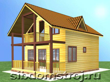 Проект дома КД-39