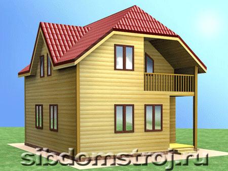 Проект дома ДЖ-09