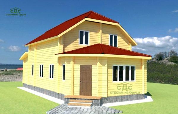 Проект дома ДЖ-08