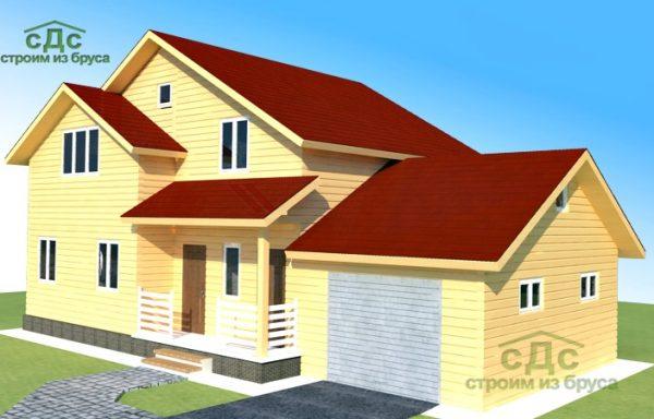 Проект дома ДЖ-15