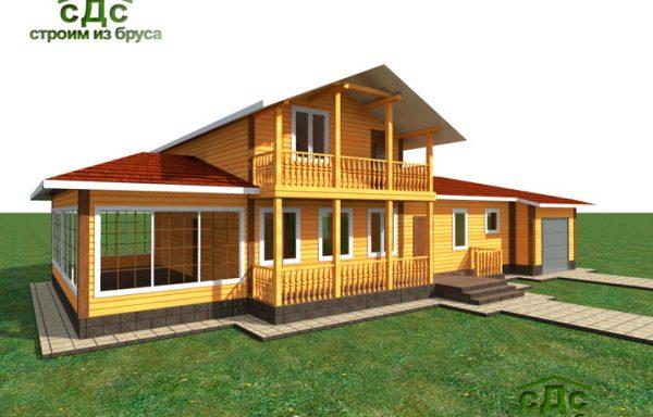 Проект дома ДЖ-13