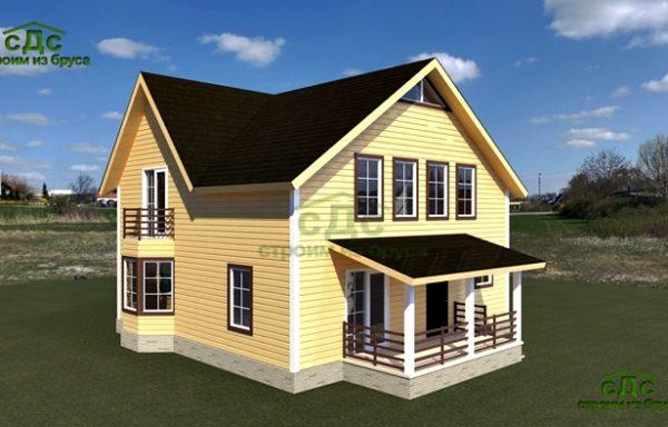 Проект дома ДЖ-01 — 162 кв.м.