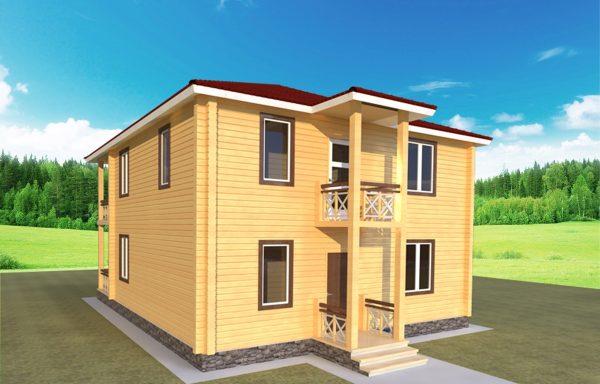 Проект дома ДЖ-39