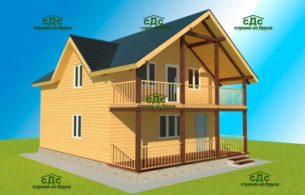 Проект дома ДЖ-20
