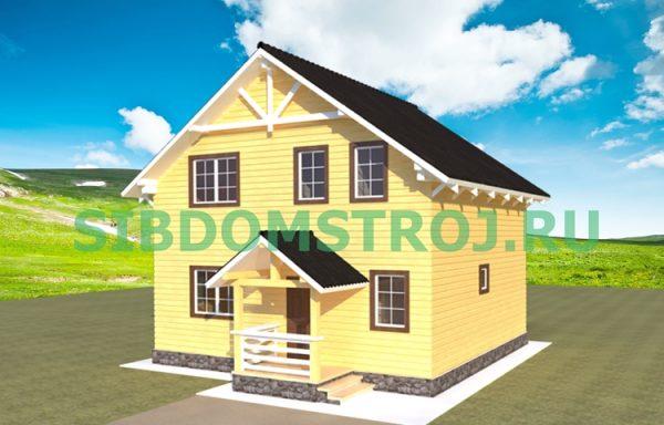 Проект дома ДЖ-40
