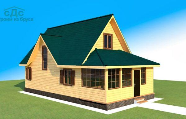 Проект дома ДЖ-19