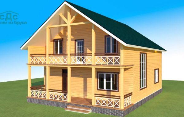 Проект дома ДЖ-22