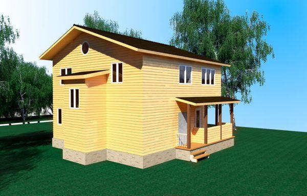 Проект дома ДЖ-03