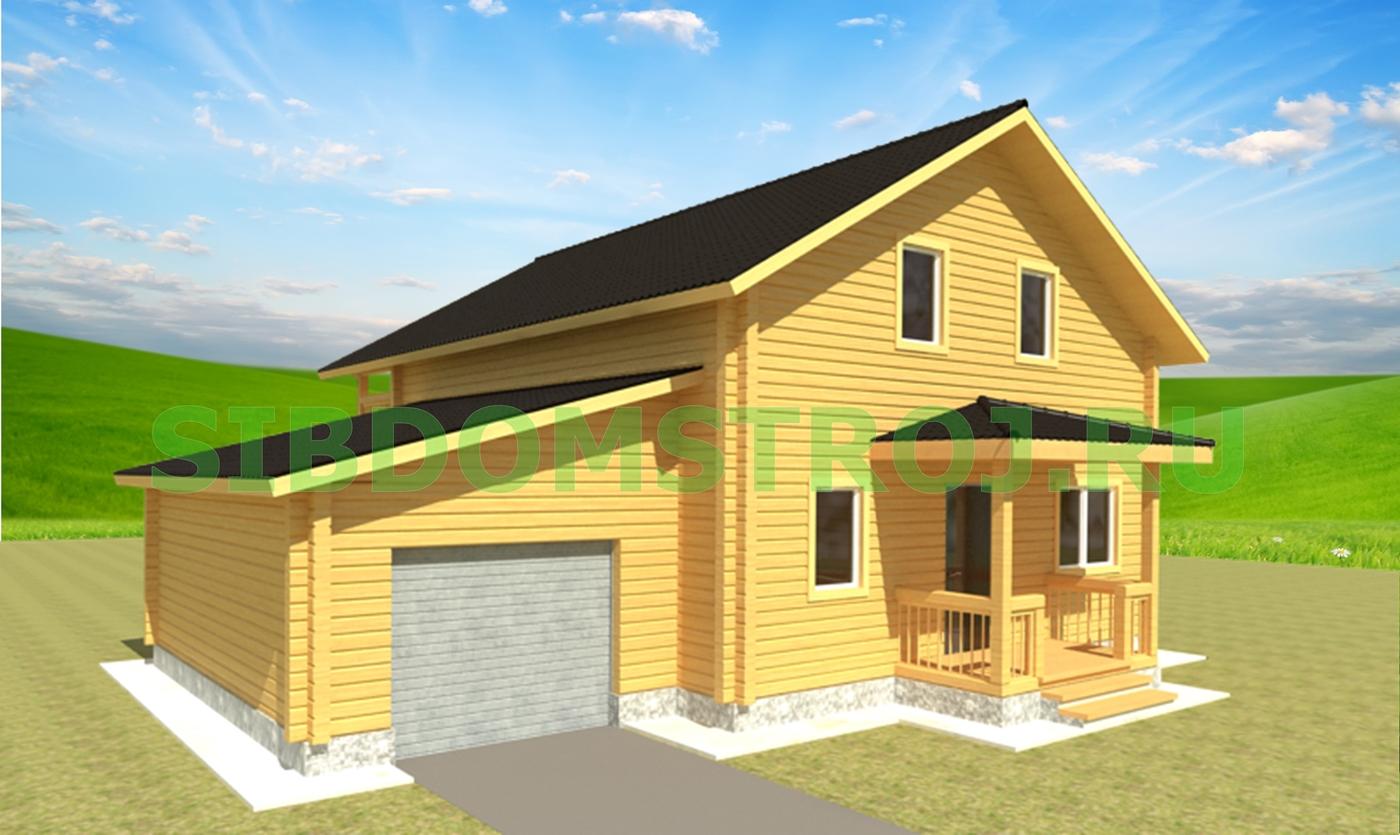 Проект дома ДЖ-42