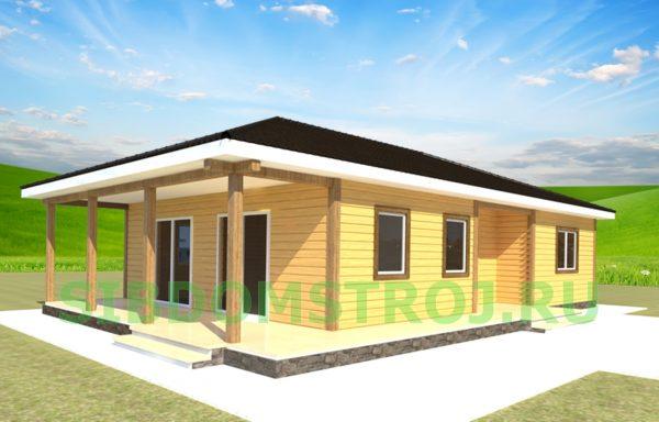 Проект дома ДЖ-43