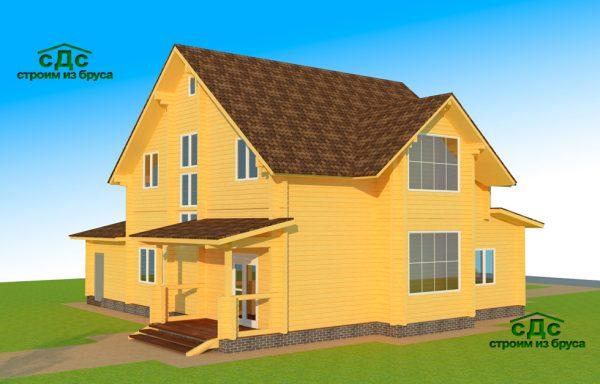 Проект дома ДЖ-16