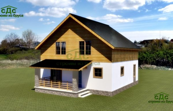 Проект дома СБ-02