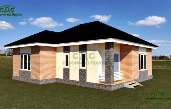 Проект дома СБ-03