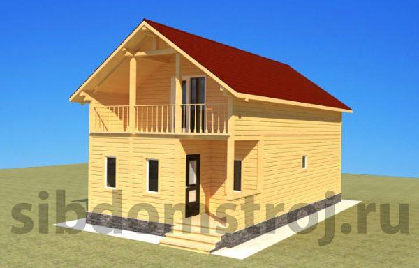 Проект дома ДЖ-24