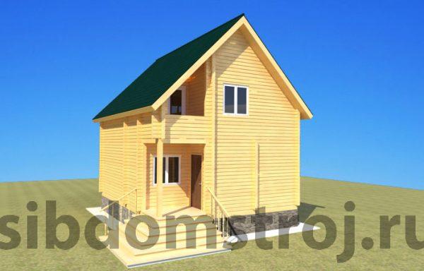 Проект дома ДЖ-26