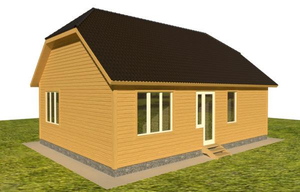 Проект дома ДЖ-53