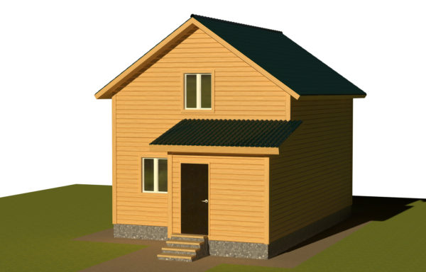 Проект дома ДЖ-56