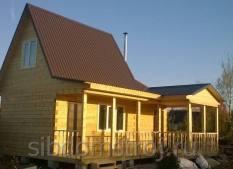 1.-Строительство-Дома-бани-7х8м-из-строганного-бруса-100х150мм