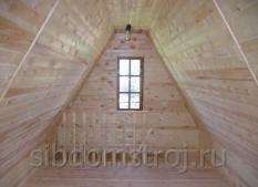 22.-Подшив-потолка-вагонкой-на-мансардном-этаже